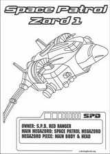 Power Rangers coloring page (059)
