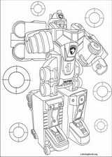 Power Rangers coloring page (063)