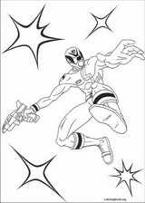 Power Rangers coloring page (065)