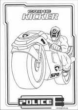 Power Rangers coloring page (067)