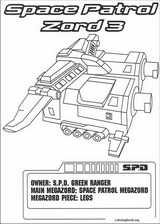 Power Rangers coloring page (070)