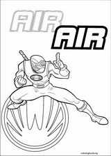 Power Rangers coloring page (076)