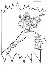Power Rangers coloring page (078)