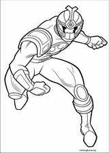 Power Rangers coloring page (079)
