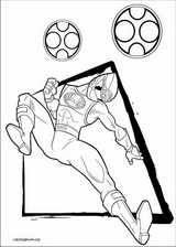 Power Rangers coloring page (082)