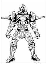 Power Rangers coloring page (090)