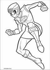Power Rangers coloring page (093)