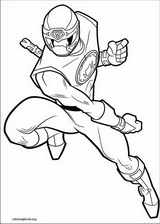 Power Rangers coloring page (097)