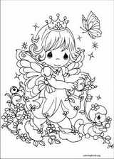 Precious Moments coloring page (002)