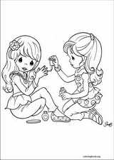 Precious Moments coloring page (003)