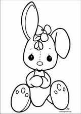 Precious Moments coloring page (004)