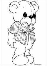 Precious Moments coloring page (005)