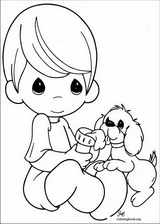Precious Moments coloring page (006)