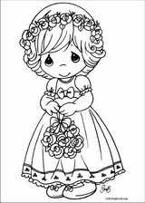 Precious Moments coloring page (007)