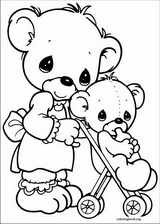 Precious Moments coloring page (009)