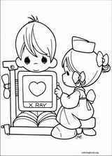 Precious Moments coloring page (010)