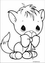 Precious Moments coloring page (011)