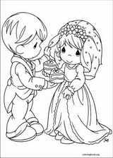 Precious Moments coloring page (013)