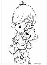 Precious Moments coloring page (014)