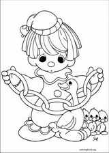 Precious Moments coloring page (015)
