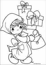 Precious Moments coloring page (018)