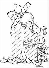 Precious Moments coloring page (019)