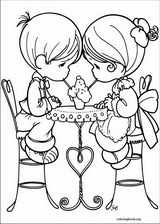 Precious Moments coloring page (026)