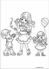 Precious Moments coloring page (027)