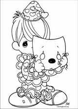 Precious Moments coloring page (028)