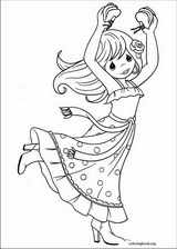 Precious Moments coloring page (029)