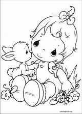 Precious Moments coloring page (030)