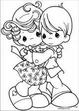Precious Moments coloring page (033)