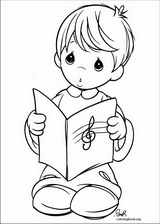 Precious Moments coloring page (034)