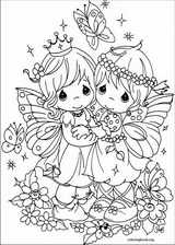 Precious Moments coloring page (036)