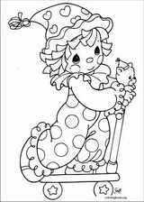 Precious Moments coloring page (039)
