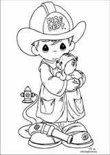 Precious Moments coloring pages @ ColoringBook.org