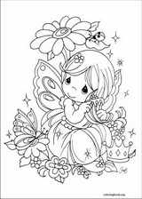Precious Moments coloring page (044)