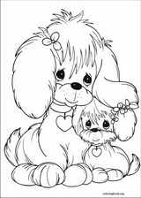 Precious Moments coloring page (048)