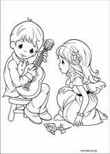 Precious Moments coloring page (049)
