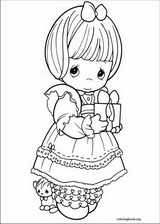 Precious Moments coloring page (050)