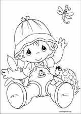 Precious Moments coloring page (051)