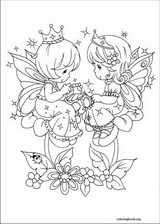 Precious Moments coloring page (052)