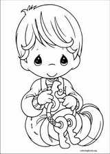 Precious Moments coloring page (053)