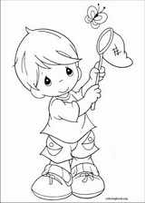 Precious Moments coloring page (054)