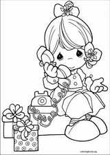 Precious Moments coloring page (056)