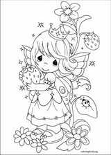 Precious Moments coloring page (057)