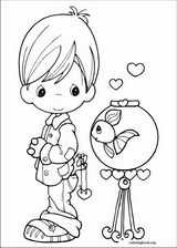Precious Moments coloring page (059)