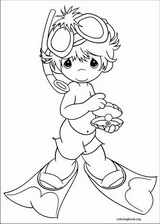 Precious Moments coloring page (060)