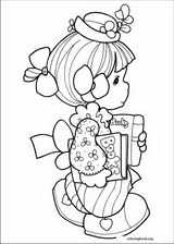 Precious Moments coloring page (061)