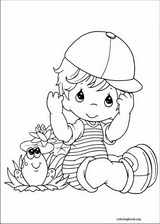 Precious Moments coloring page (062)